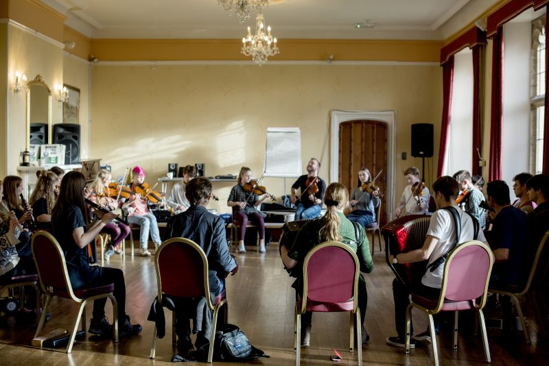 National Youth Folk Ensemble Sampler Day