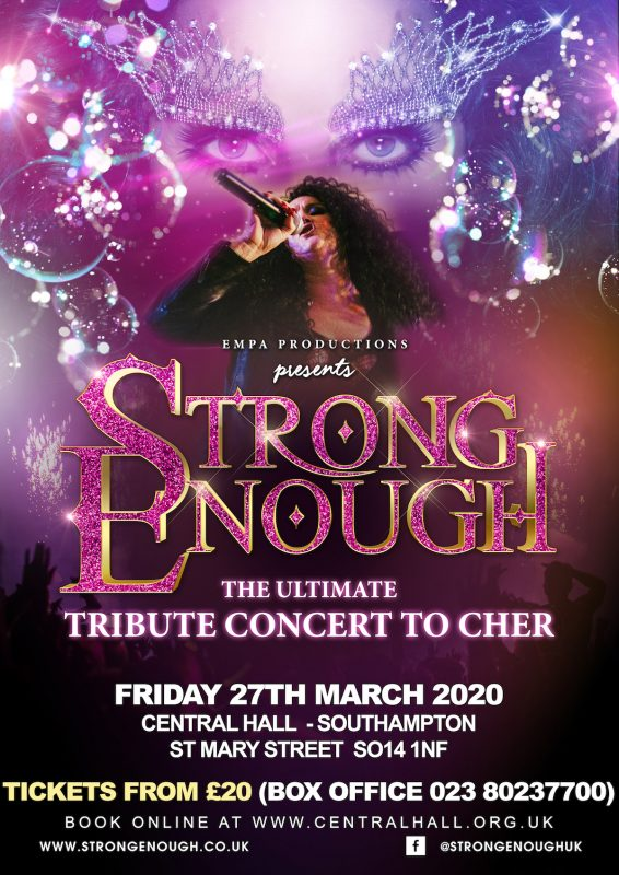 'Strong Enough' – The Ultimate tribute to Cher concert