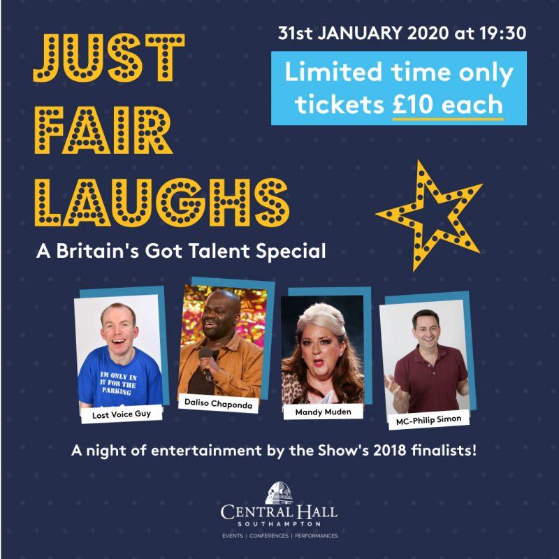 Just Fair Laughs – A Britain's Got Talent Special