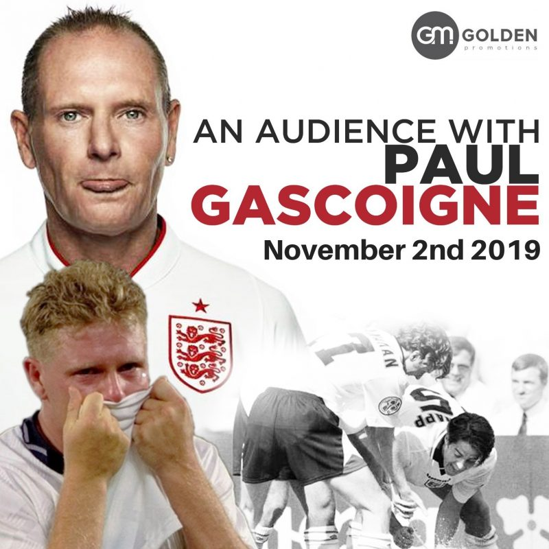 An Evening with Paul Gascoigne