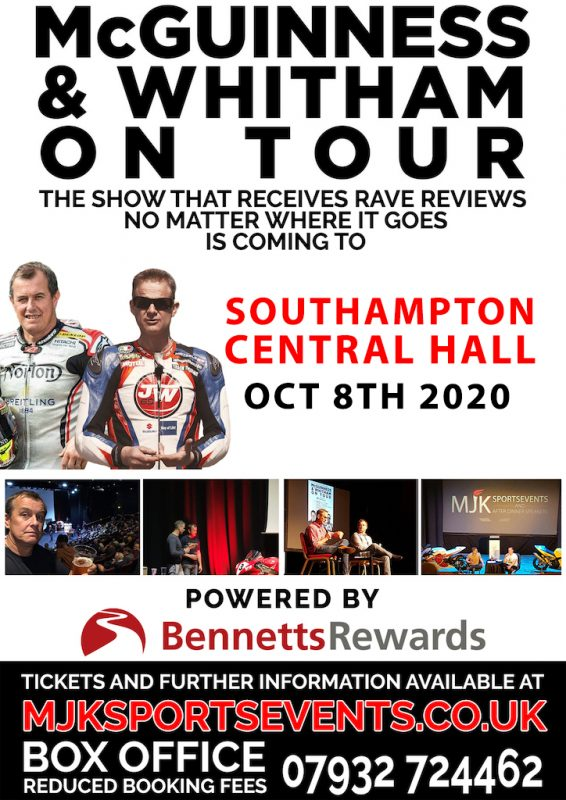 McGuinness & Whitham on Tour – NEW DATE!