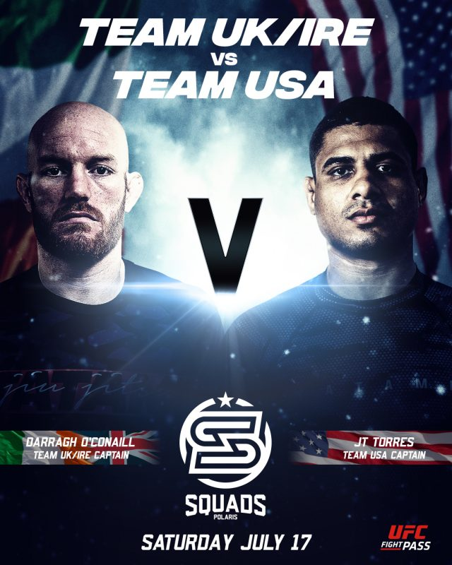 Polaris Squads – Team UK & IRE vs Team USA